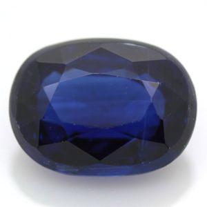 藍晶石 天然カイヤナイト オーバル ルース 1.75ct 《ov_140size》|evj-cc