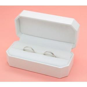 ペアリング(2本セット) 結婚指輪 マリッジリング 結婚記念 鍛造製法 ミル打ち加工 プラチナ900/K18ピンクゴールド ダイヤモンドリング 《Solid M2078WR》 日本製|evj-cc|02