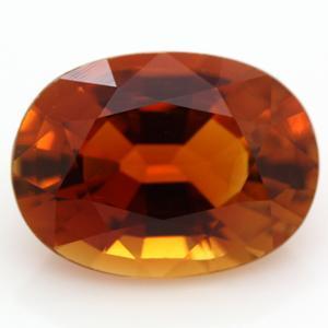 ブラジル産 天然オレンジトルマリン ルース 2.25ct 《ov_170size》|evj-cc
