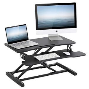 FITUEYES 高さ調整可 スタンディングデスク 昇降式多機能畳 オフィスワークテーブル 折りたた...