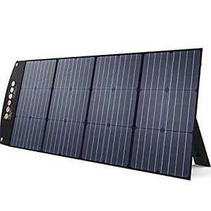 BALDR ソーラーパネル 120W 最新型ETFEソーラーチャージャー 23.5%の高転換率 DC出力 折り畳み式ポータブル電源充電器(120W 1の画像