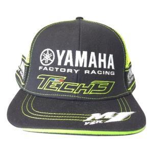 motoGPで大暴れ!テック3ヤマハロゴの野球帽です。motoGPファンやヤマハファンにはたまらない...