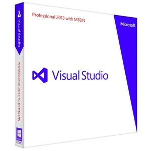 Visual Studio Professional 2013 with MSDN|ex-soft