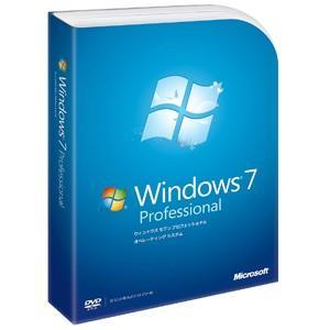 Windows 7 Professional DVD-ROM Windowsの商品画像|ナビ