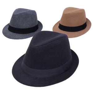 中折れハット 帽子 メンズ レディース サイズ調節可能 シンプルメルトン