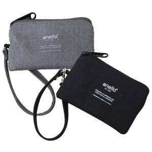 雰囲気のある高密度ポリを使用したポーチです。 ICカードの入るポケットも付いているのでパスケースにも...
