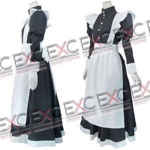 ブラックラグーン ロベルタ メイド服 風 コスプレ衣装|exc1-com|02