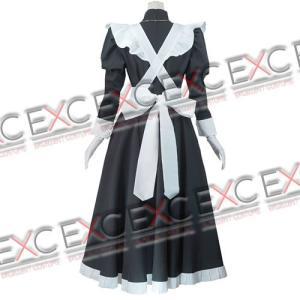 ブラックラグーン ロベルタ メイド服 風 コスプレ衣装|exc1-com|03