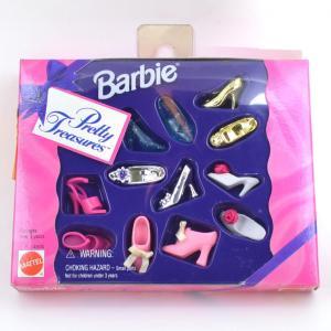 バービーの靴セット バービーシューズセット pretty freasures|excalibur