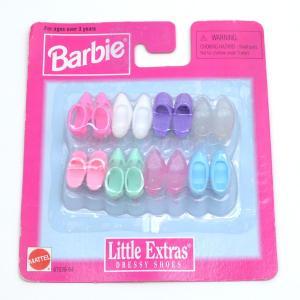 【バービー在庫処分】バービーの靴セット リトルエクストラ 薄色タイプ|excalibur