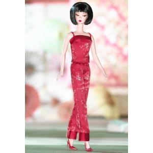 【バービー在庫処分】シノワズリー レッド ミッドナイト バービー Chinoiserie Red Midnight Barbie|excalibur