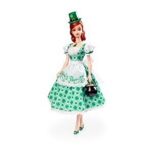 【バービー在庫処分】シャムロック セレブレーション バービー Shamrock Celebration Barbie Doll|excalibur