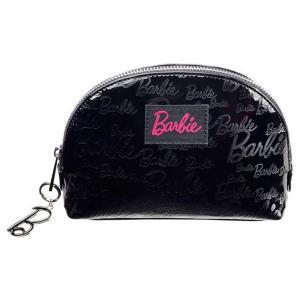 【バービー在庫処分】 バービー 化粧ポーチ メイクアップケース 黒 ブラック Makeup Case Black|excalibur