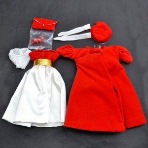 バービーのお洋服のみ★シルケンフレーム バービー Silken Flame リプロダクション 18448|excalibur