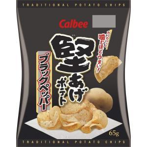カルビー 堅あげポテト ブラックペッパー 65g 12袋|excel-fukuoka