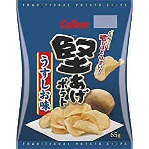 カルビー 堅あげポテト うすしお味 65g×12袋|excel-fukuoka