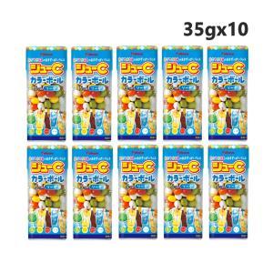 カバヤ ジューCカラーボールソーダ 35g×10個 excel-fukuoka