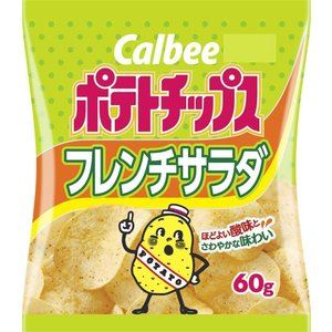 カルビー ポテトチップス フレンチサラダ60g×12袋|excel-fukuoka