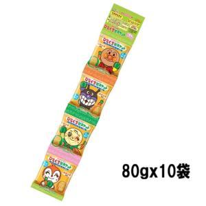 不二家 80gアンパンマンひとくちビスケット4連 80g×10袋|excel-fukuoka
