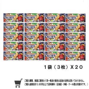 江崎グリコ  毎日果実1袋(3枚)X 20コ|excel-fukuoka