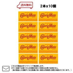 メール便・送料無料 大塚製薬 カロリーメイト ブロック チョコレート 2本×10個|excel-fukuoka
