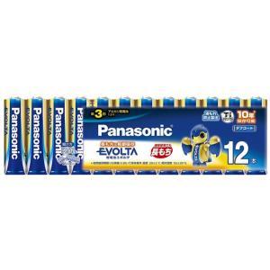 【商品名:】【キャッシュレスで5%還元】Panasonic エボルタ アルカリ乾電池 単3形 12本...