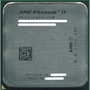 AMD Phenom II X4 840 3.2GHz SocketAM3 95W HDX840WFK42GM