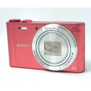 【商品名:】【中古】SONY製 Cyber-shot DSC-WX350 ピンク/1820万画素 /...