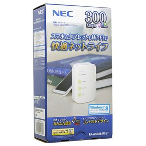 NEC製■無線LANルータ 単体モデル PA-WR8165N-ST◇【ゆうパケット不可】
