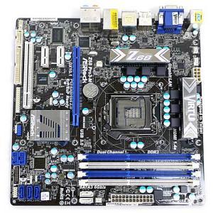 ASRock製 MicroATXマザーボード Z68 Pro3-M LGA1155▼