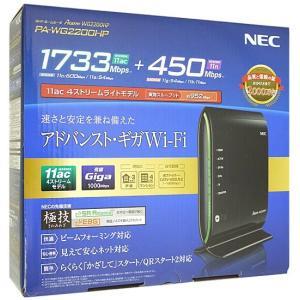 【商品名:】【中古】NEC製 無線LANルーター PA-WG2200HP 元箱あり / 【商品状態:...