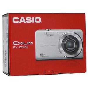 CASIO製 EXILIM EX-ZS28RD レッド 1610万画素