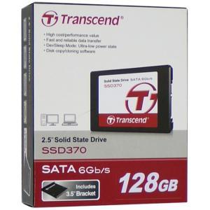 【商品名:】【中古】Transcend 2.5インチ SSD TS128GSSD370 128GB ...