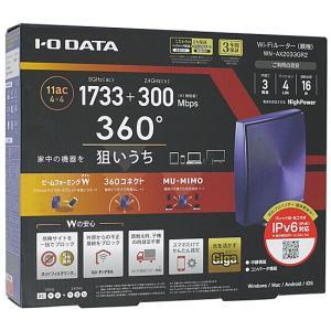 【商品名:】【中古】I-O DATA アイ・オー・データ製 無線LANルーター WN-AX2033G...