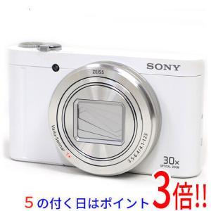 【商品名:】【中古】SONY製 Cyber-shot DSC-WX500 ホワイト/1820万画素 ...