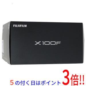 【商品名:】【中古】FUJIFILM デジタルカメラ X100F-B ブラック 2430万画素 美品...