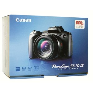 【商品名:】【中古】Canon製 PowerShot SX10 IS 1000万画素 元箱あり / ...