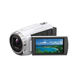 【商品名:】【中古】SONY製 デジタルビデオカメラ HANDYCAM HDR-CX680 (W) ...