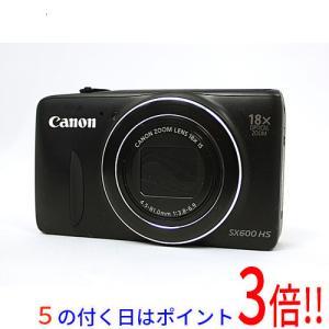 【商品名:】【中古】Canon製 PowerShot SX600 HS ブラック 1600万画素 /...