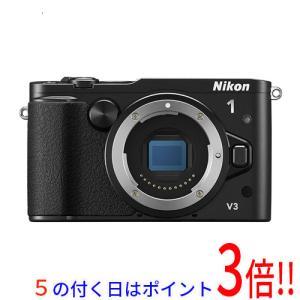【商品名:】【キャッシュレスで5%還元】【中古】Nikon 一眼 1 V3 ボディ ブラック / 【...