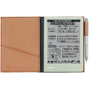 SHARP 電子ノート WG-S30-T ブラウンの関連商品4
