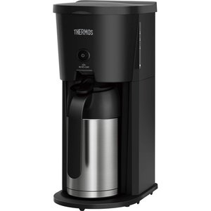 【商品名:】THERMOS 真空断熱ポットコーヒーメーカー 0.63L ECJ-700 BK ブラッ...