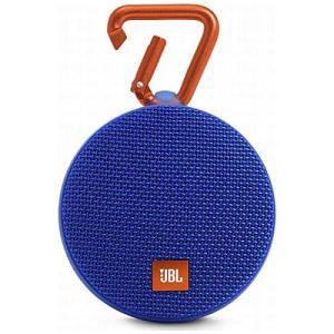 【中古】JBL ウォータープルーフ対応Bluetoothスピーカー CLIP2 ブルー JBLCLIP2BLUE 未使用|excellar-plus