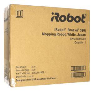 【商品名:】【キャッシュレスで5%還元】【中古】iRobot 床拭きロボット ブラーバ390j B3...