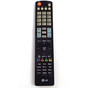【キャッシュレスで5%還元】【中古】LGエレクトロニクス テレビリモコン AKB73275642