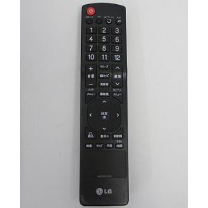 【キャッシュレスで5%還元】【中古】LGエレクトロニクス テレビリモコン AKB72915270
