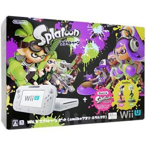 Wii U スプラトゥーン セット(amiibo アオリ・ホ...