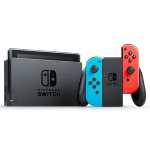 【キャッシュレスで5%還元】任天堂 Nintendo Switch ネオンブルー/ネオンレッド|excellar-plus|02