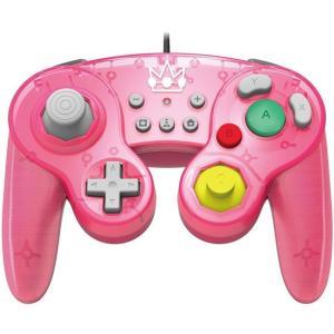【商品名:】HORI クラシックコントローラー for Nintendo Switch ピーチ 並行...