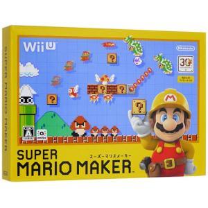 【中古】スーパーマリオメーカー/限定仕様ブックレット付 Wii U